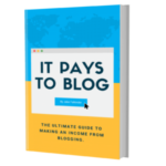 It Pays To Blog: My book has officially launched!